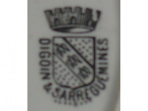1875 - 1900 - Sarreguemines